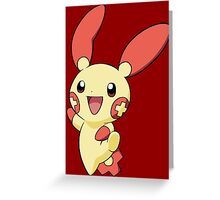 Plusle Greeting Card