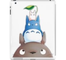 cute totoro  iPad Case/Skin