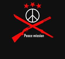 Peace Mission Funny Men's Hoodie T-Shirt