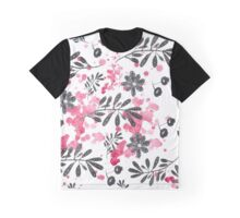 black pattern with drops  Graphic T-Shirt