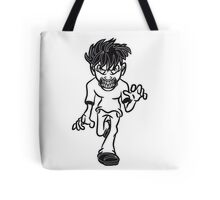 zombie dangerous Tote Bag