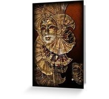 Venetian mask n. 2 Greeting Card
