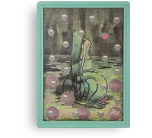 Unhappy Mermaid Canvas Print