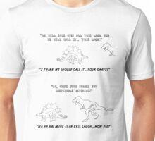 Firefly T-rex Steg Unisex T-Shirt