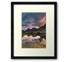 The Pastels Framed Print