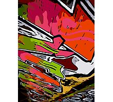 Graffiti Vector Design  Photographic Print