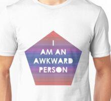 I Am An Awkward Person Unisex T-Shirt