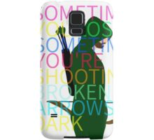 Arrow/Broken Arrows Samsung Galaxy Case/Skin
