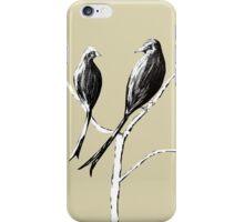 Black Drongos 5 iPhone Case/Skin