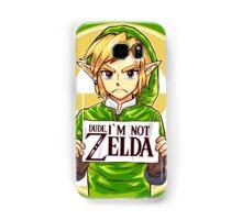 Dude, I'm Not ZELDA! Samsung Galaxy Case/Skin