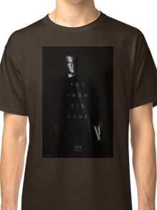 Bourne - You Know His Name Movie Poster Classic T-Shirt