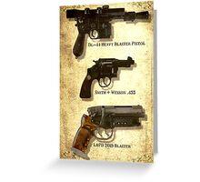Ford's Guns Greeting Card