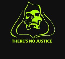 There's no Justice Funny Men's Hoodie T-Shirt