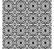 Mandala Tile Pattern Photographic Print
