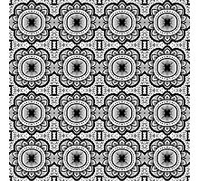 Mandala Tile Pattern Photographic Print