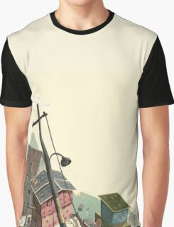 Paper city Graphic T-Shirt