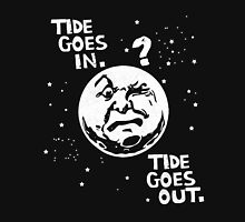 Tide Goes In & Out Funny Men's Tshirt T-Shirt
