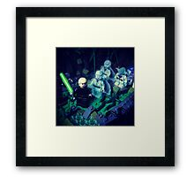 Training With Lost Friends Framed Print