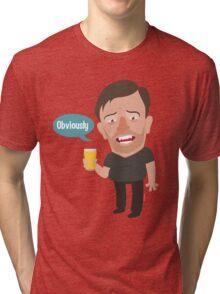 Ricky Gervais Tri-blend T-Shirt