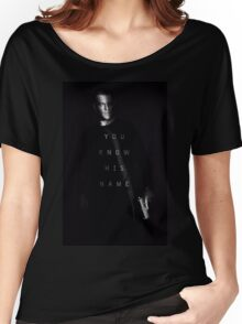 Bourne - You Know His Name Women's Relaxed Fit T-Shirt