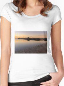 Fuerteventura Sunrise  Women's Fitted Scoop T-Shirt