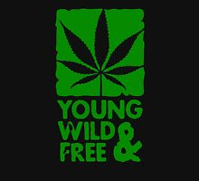 Young Wild And Free Funny Men's Tshirt T-Shirt