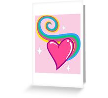My cute heart is yours Greeting Card