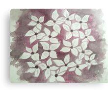 Blossom in wine Metal Print
