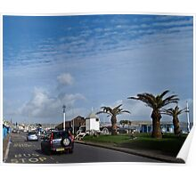 Weymouth Seafront. Poster