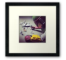 Toys with Toys Framed Print