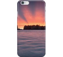 Aurora borealis? iPhone Case/Skin