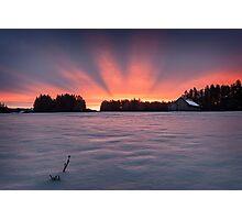 Aurora borealis? Photographic Print