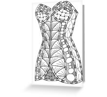 Corset #1 Greeting Card
