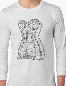 Corset #1 Long Sleeve T-Shirt