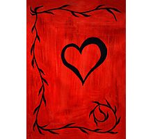 Heart Mystery Photographic Print