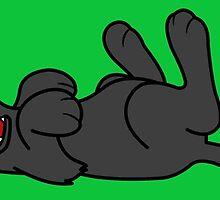 Black Dog - Roll Over by Grifynne