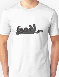 Black Dog - Roll Over Unisex T-Shirt