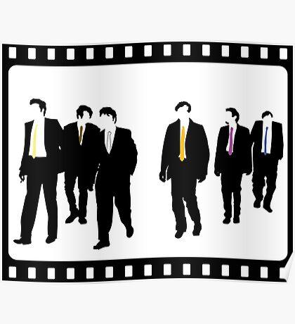 Reservoir Dogs Film Cell Poster