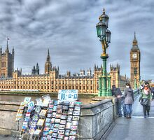 Postcard London by Michael Matthews