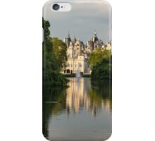 St James's Park Lake Reflections, London UK - Green, Gray and Beautiful iPhone Case/Skin