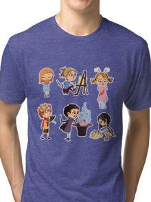 Vector children set Tri-blend T-Shirt