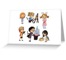 Vector children set Greeting Card