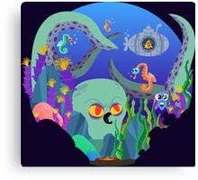 Underwater Adventure Canvas Print