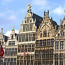 Antwerp - Guildhouses by Gilberte