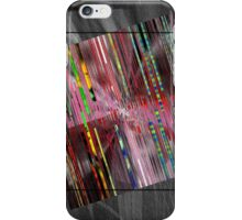 barcode square iPhone Case/Skin