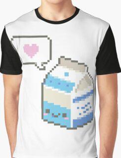 Kawaii milk carton Graphic T-Shirt