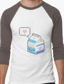 Kawaii milk carton Men's Baseball ¾ T-Shirt