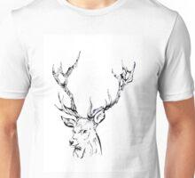Ornate Deer Unisex T-Shirt
