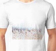 Winter landscape in the village Unisex T-Shirt