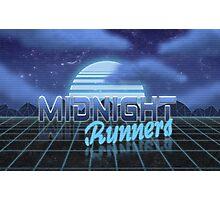 Midnight Runner 1980s neo-design Photographic Print